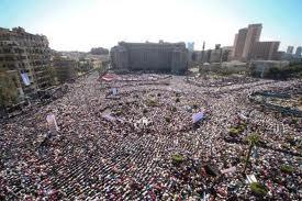صور مظاهرة ميدان التحرير احد شوارع مصر