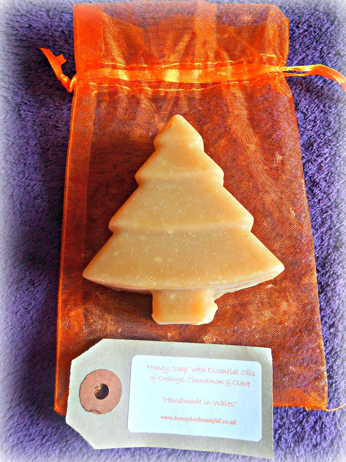 Cinnamon Clove Honey Soap