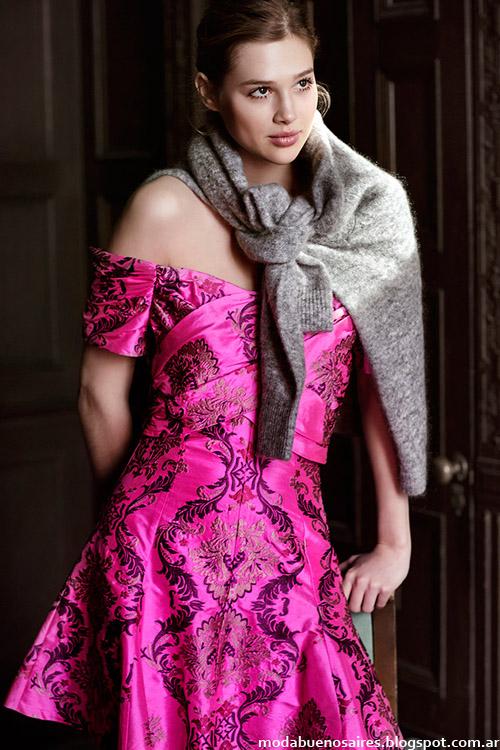 Jazmin Chebar otoño invierno 2014. Moda otoño invierno 2014 vestidos.