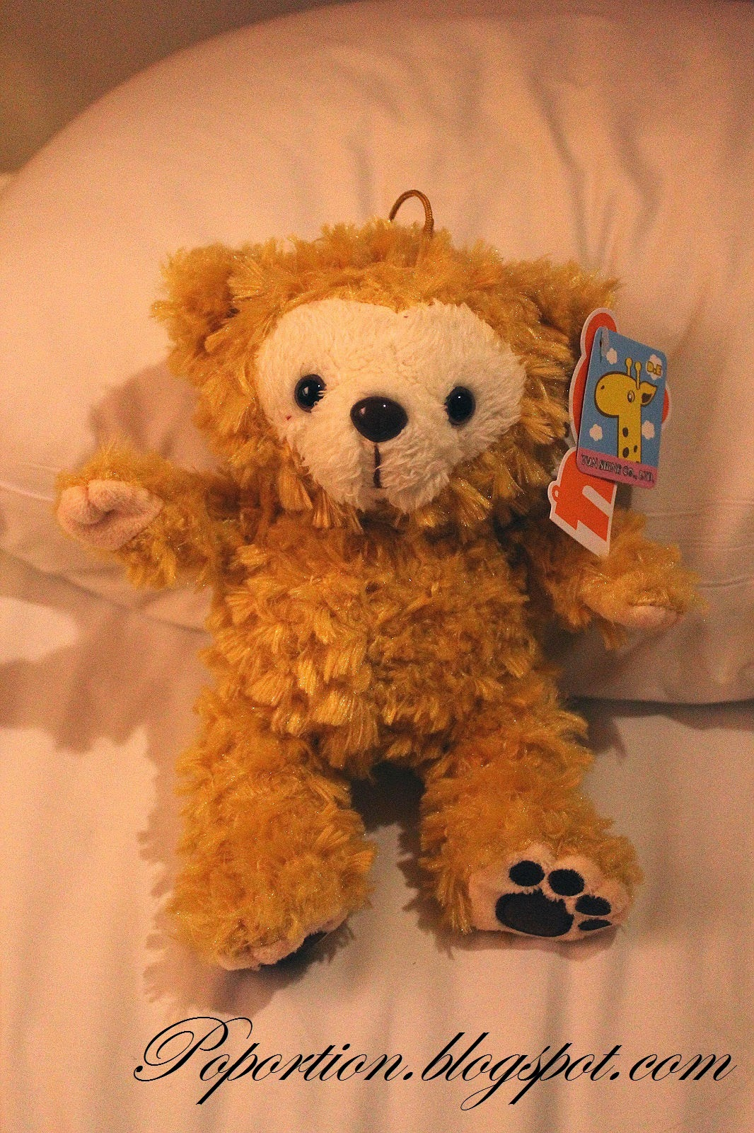 fake duffy from toy catching machine