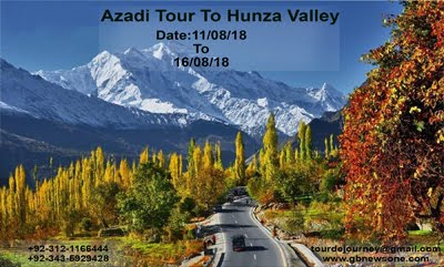 Azadi Tour To Hunza Valley