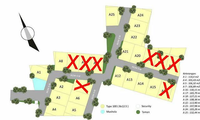 Siteplan Ummi Residence 1