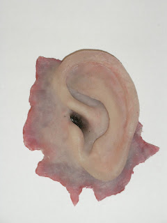 Severed Ear - made in silicone