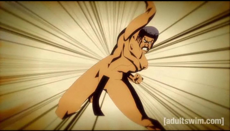 Adult swim black, kobe naked