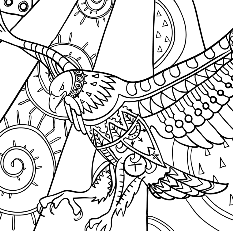 Coloring Book Birds FREE