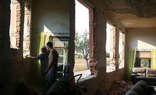 Top corridor windows