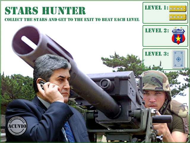 Gabriel Oprea Stars Hunter funny photo