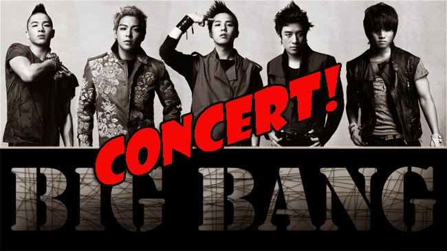 Korean Group Big Bang Ticket Prices for Manila Tour Concert 2015