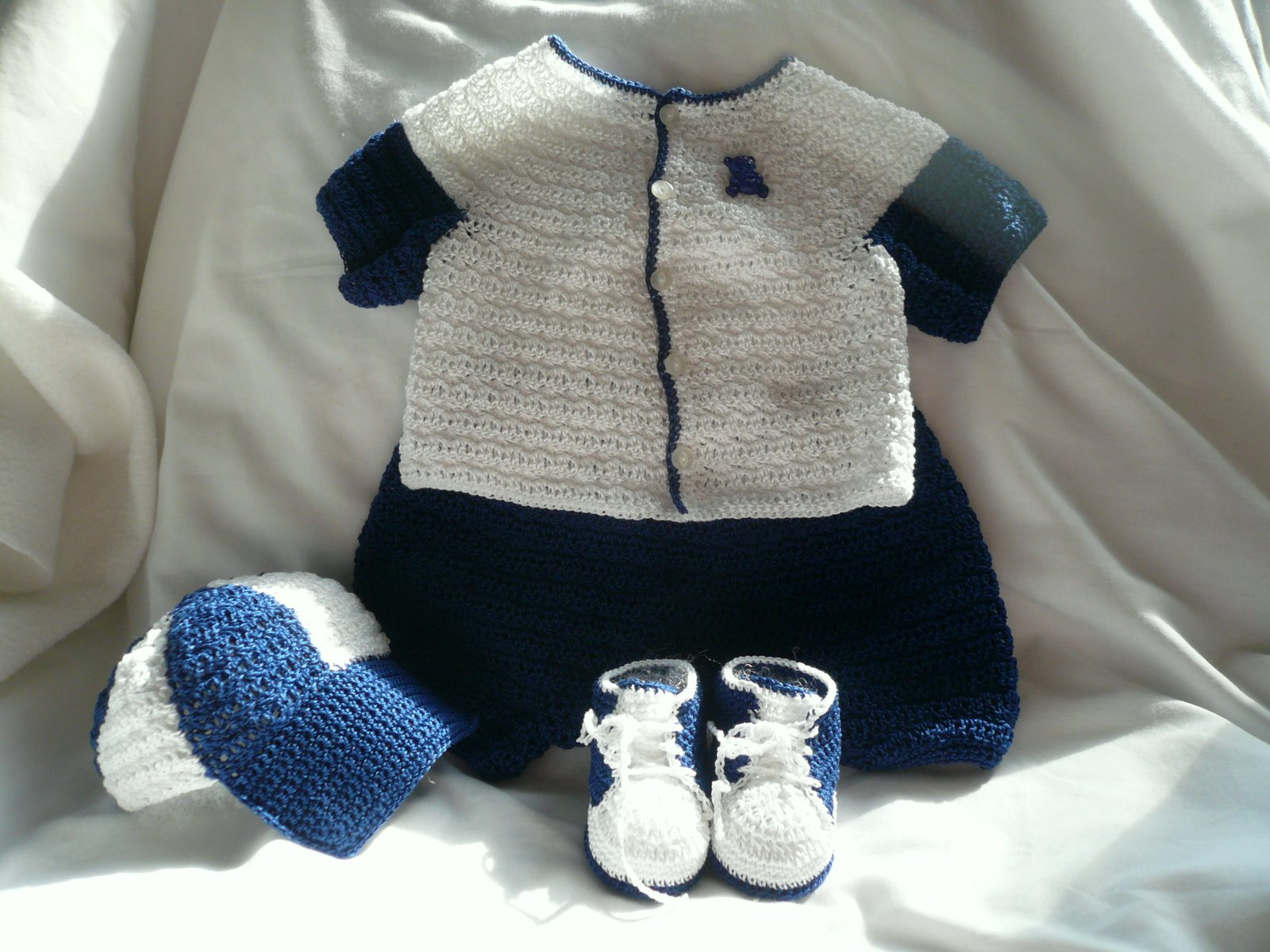 Crochet Baby Boy Clothes