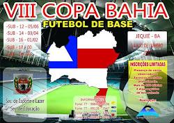 VIII COPA BAHIA DE FUTEBOL DE BASE 2017