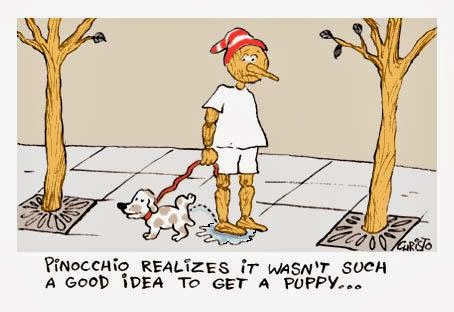 Pinocchios Puppy Cartoon Funny