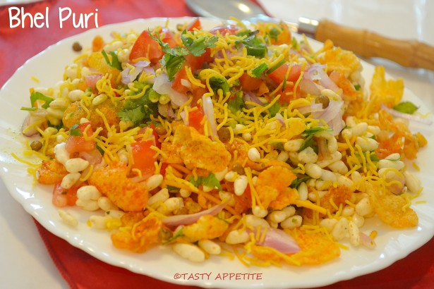 Bhel Puri Recipe Indian Chat Recipes Healthy Snack