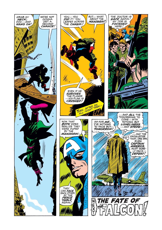 Captain America (1968) Issue #125 #39 - English 20