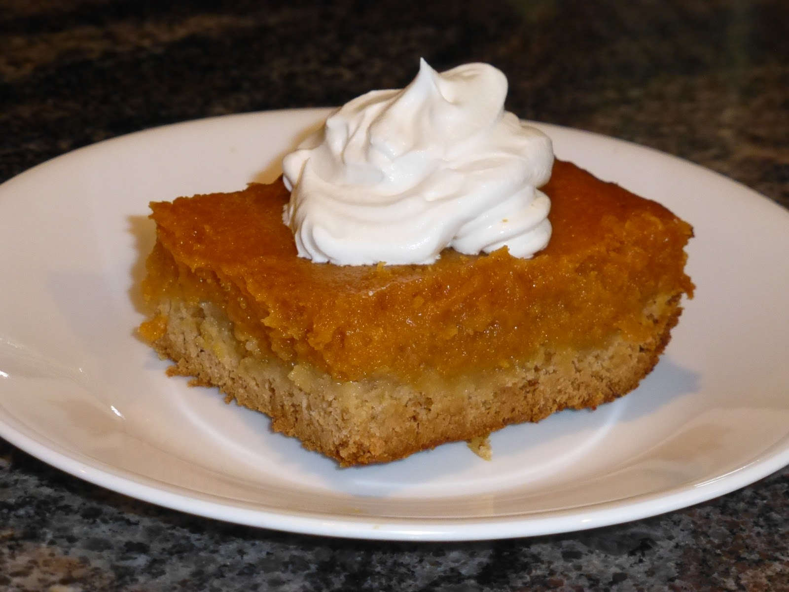 Theresa's Mixed Nuts: Gooey Pumpkin Butter Cake