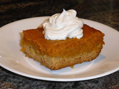 Paula Deen, gooey, thanksgiving, pumpkin pie, spice, dessert