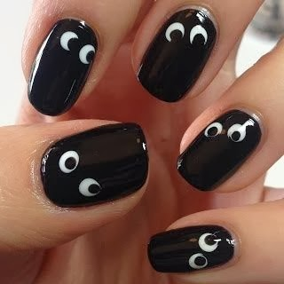 spooky halloween nail art designs  halloween ideas