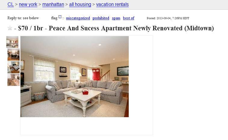 Newyork Craigslist Org Apartment