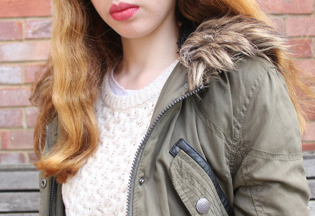 Primark winter coat parka