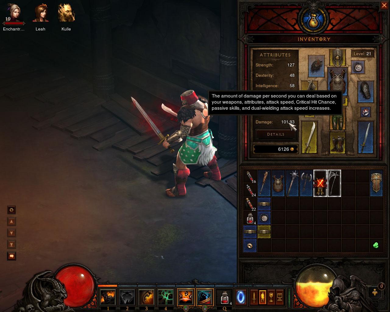 Diablo 2 - Skills inDiablode
