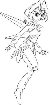 Desenho do Astro Boy para colorir