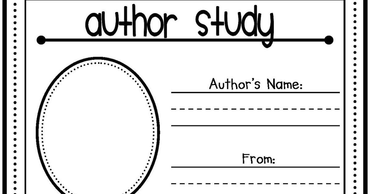 Author Study Activities - Teacher by the Beach