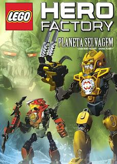 Capa do Filme LEGO Hero Factory: Savage Planet