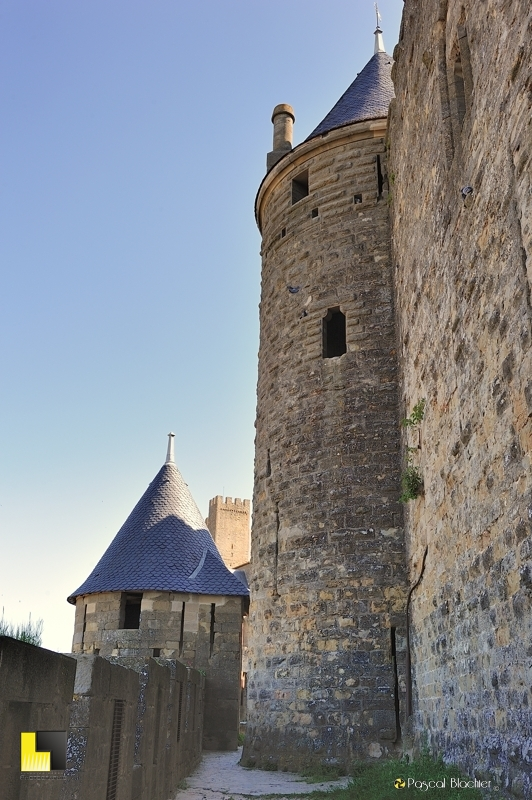 remparts ouest de Carcassonne photo blachier pascal