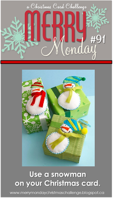 http://merrymondaychristmaschallenge.blogspot.ca/2014/01/merry-monday-91-snowman-or-snow-people.html