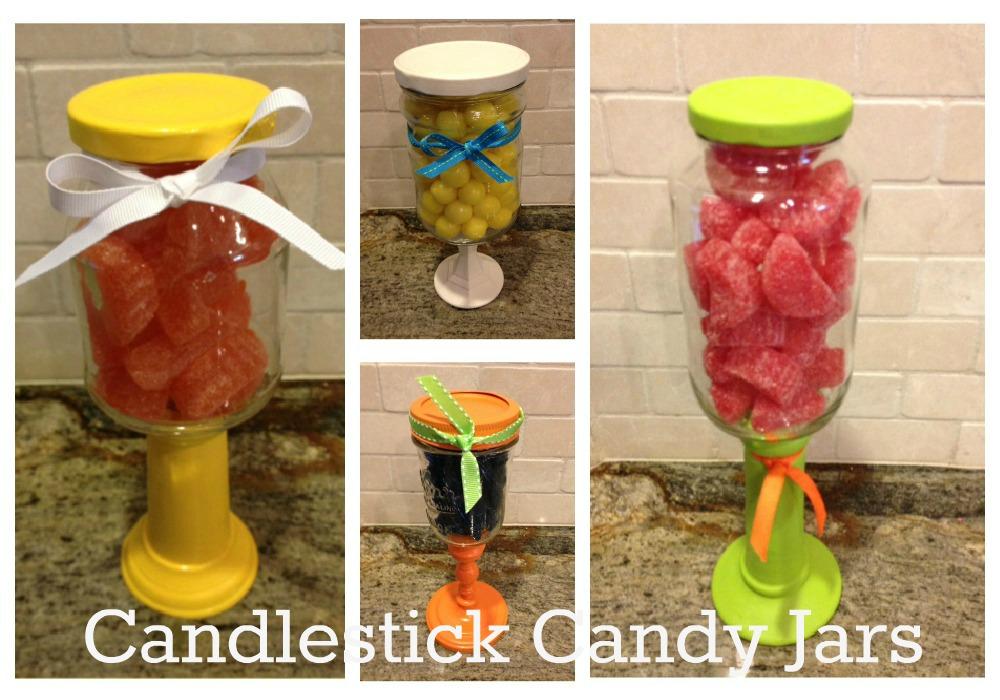 christmas goodness diy candlestick candy jars