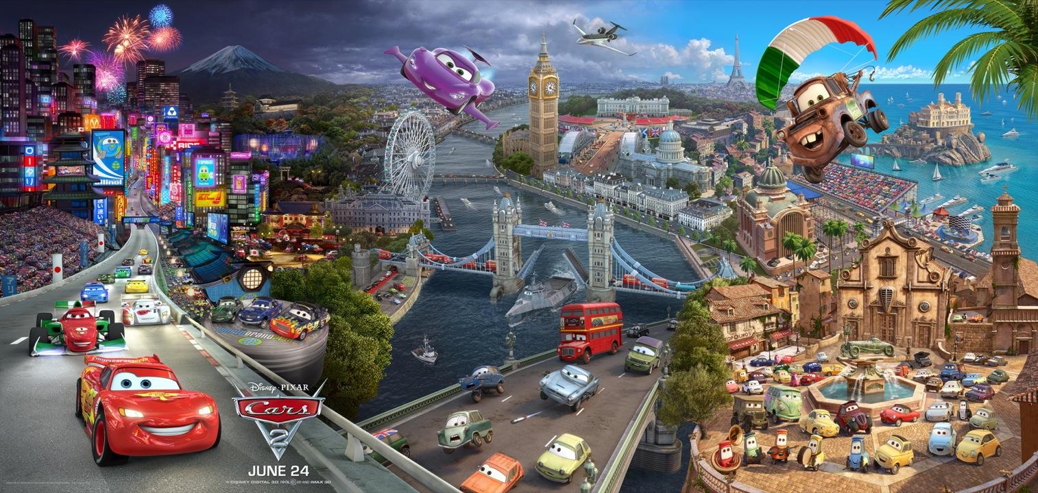 Nuevos Personajes De Cars 2 Cortos Disney Pixar Cars