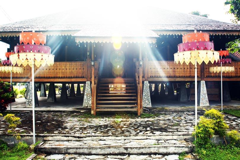 Gambar Rumah adat Bangka Belitung