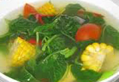 resep masakan indonesia sayur bening bayam spesial enak,segar, lezat, praktis, mudah