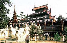 Shwe in bin monastery Mandalay