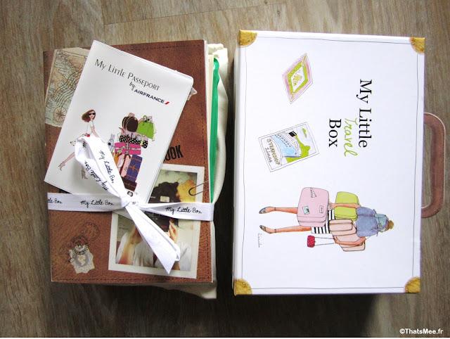 My little Travel Passeport Box 2014 My Little Paris couverture passeport Air France
