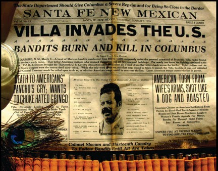 Resultado de imagen de Pancho Villa raids U.S.