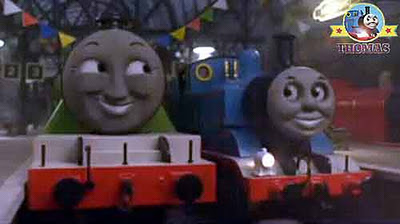 Train Thomas and the toy shop store big express Henry Thomas the tank engine and friends all tooted