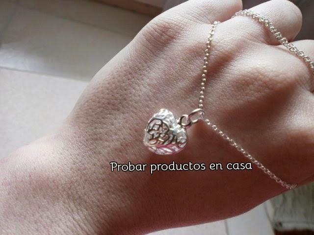 Joyería Bisuteria Corazón pequeño plata