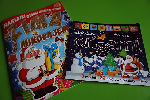 Origami świąteczne