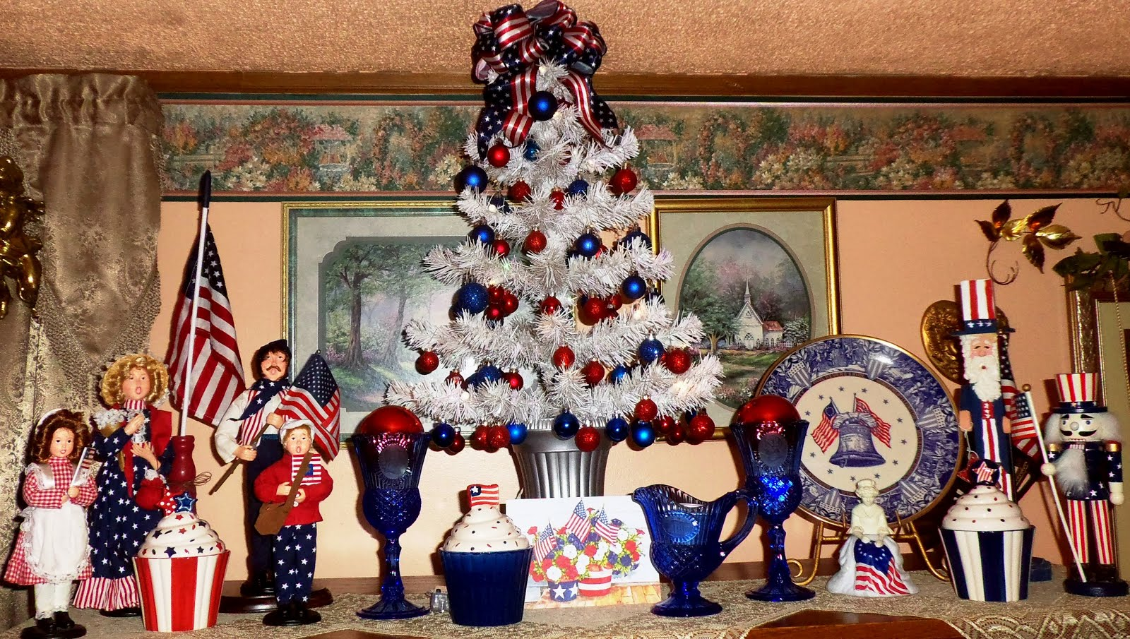 "Summer Patriotic ""Mantle"" 2015, Part 2"