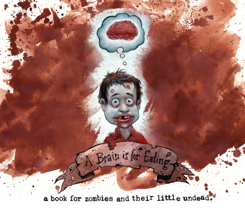 paranormal pop culture a brain is for eating an educational book