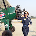 Flying Lady Tracey Curtis Taylor Lands At Hindan Air Force Station In India