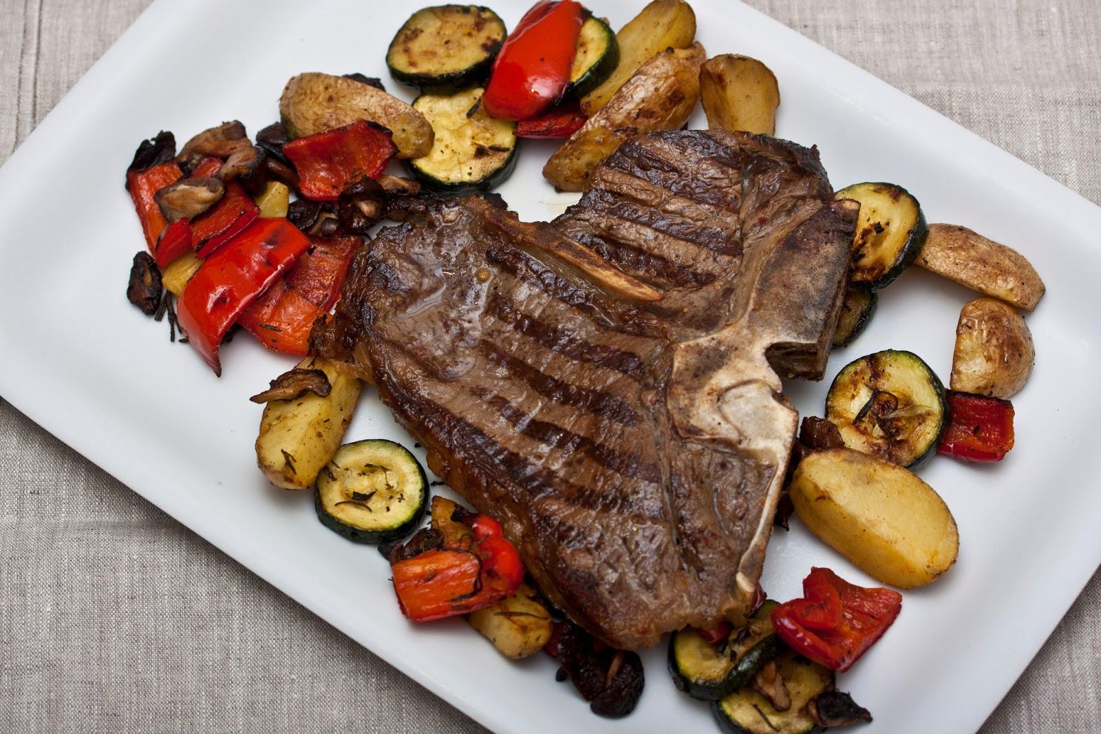 annetts kulinarisches tagebuch angegrillt mit t bone steak. Black Bedroom Furniture Sets. Home Design Ideas