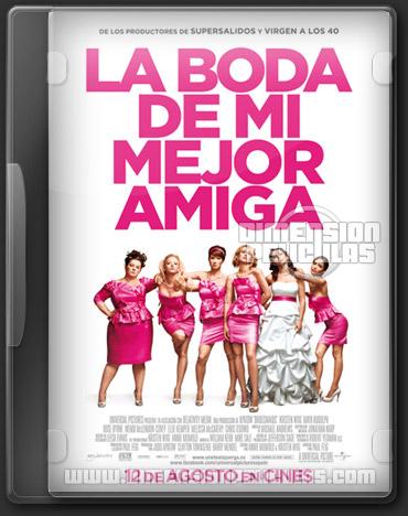 Bridesmaids (BRRip HD Español Latino) (2011)