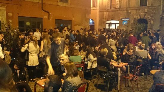 O que fazer a noite em Roma - Bar del Fico