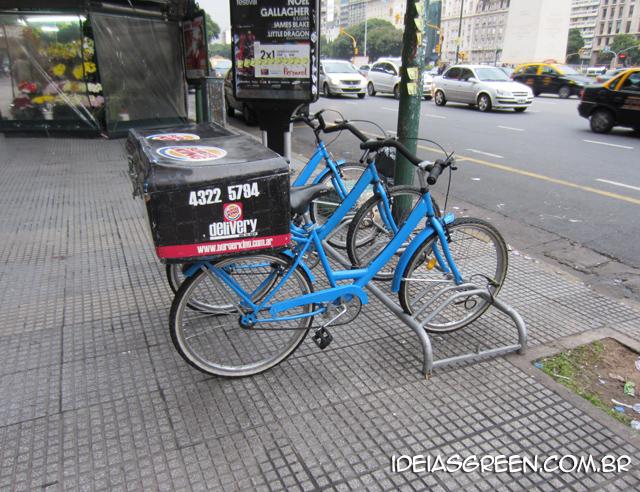 Burger King usa bicicleta para fazer entregas em Buenos Aires - Argentina #5