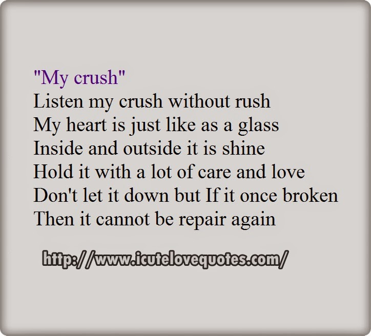 broken heart peom
