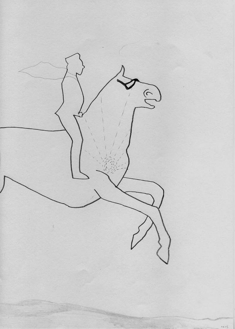 --- Iwan - wilder Ritt --- Zeichnung des Tages