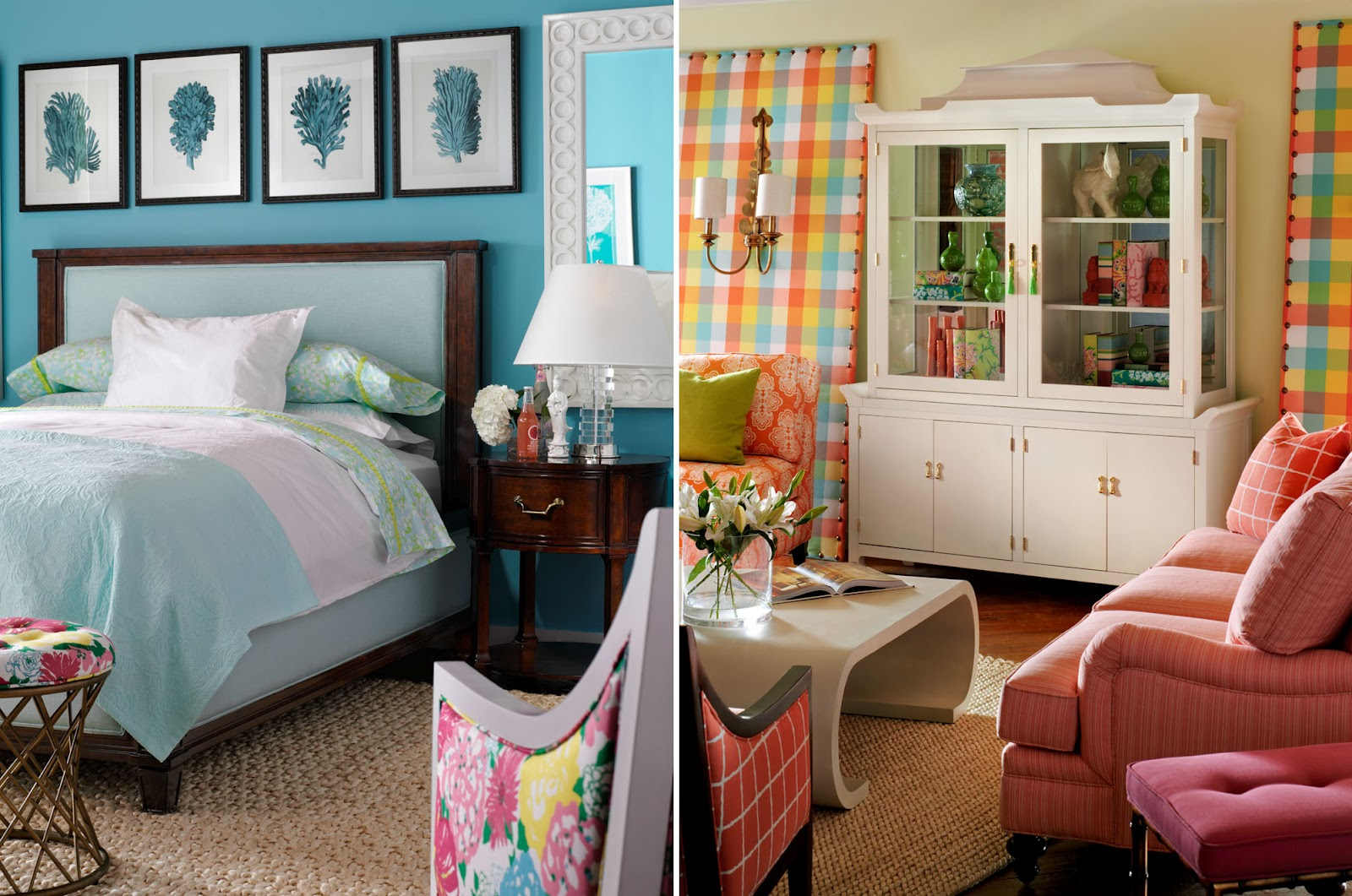lily pulitzer at home an interior design. Black Bedroom Furniture Sets. Home Design Ideas
