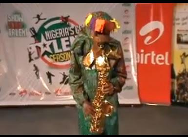 Lagbaja Look Alike Appears At Nigeria's Got Talent Lagos Auditions.