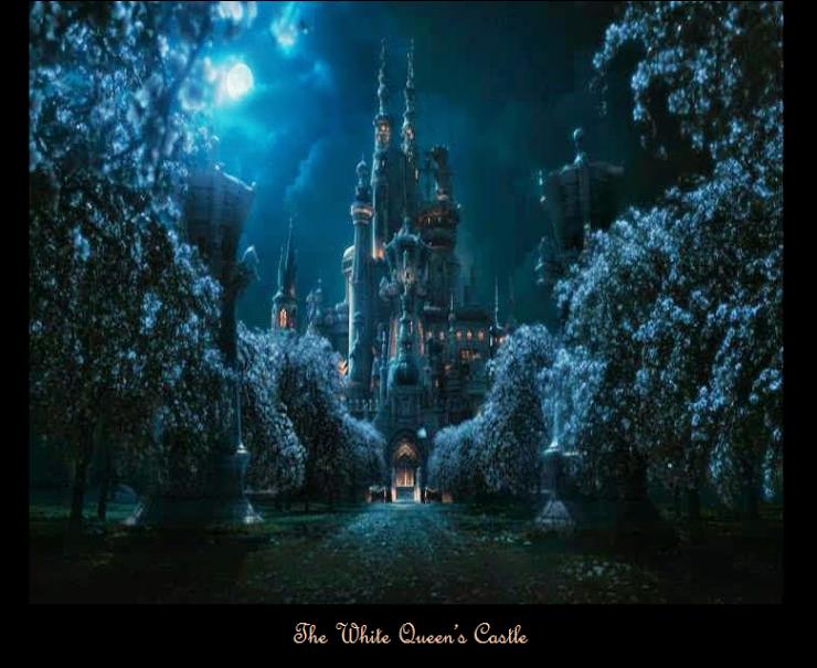 The White Queen's Castle - 'Alice in Wonderland'